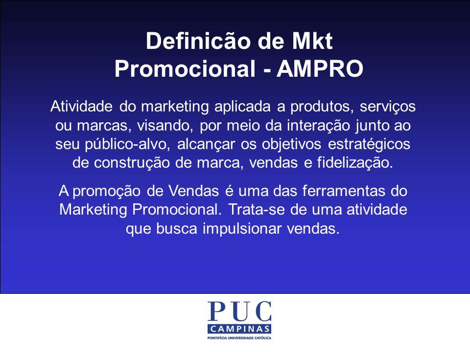 Definicão de Mkt Promocional - AMPRO