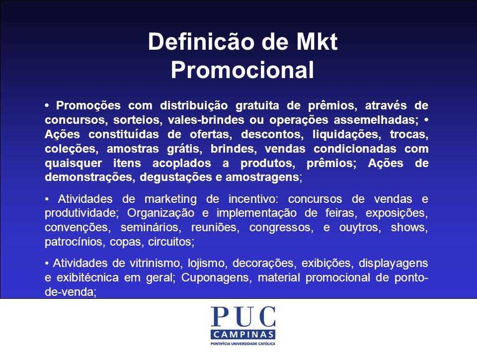 Definicão de Mkt Promocional