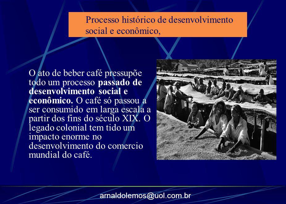 Processo histórico de desenvolvimento social e econômico,