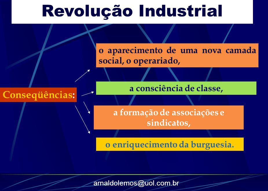 Revolução Industrial Conseqüências: