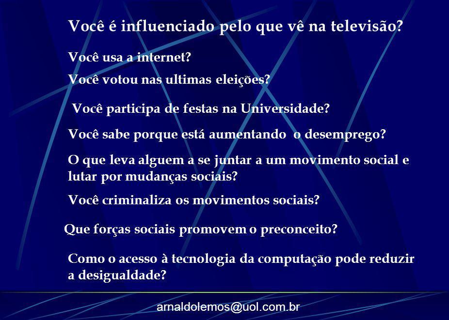 Você é influenciado pelo que vê na televisão