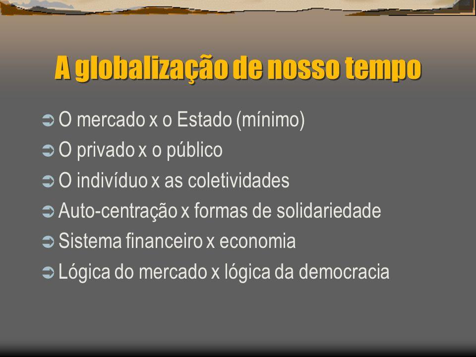 A globalização de nosso tempo