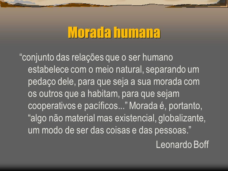 Morada humana