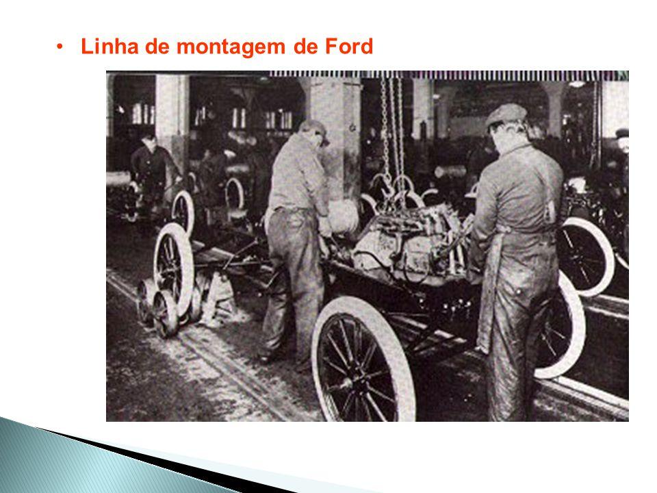 Linha de montagem de Ford