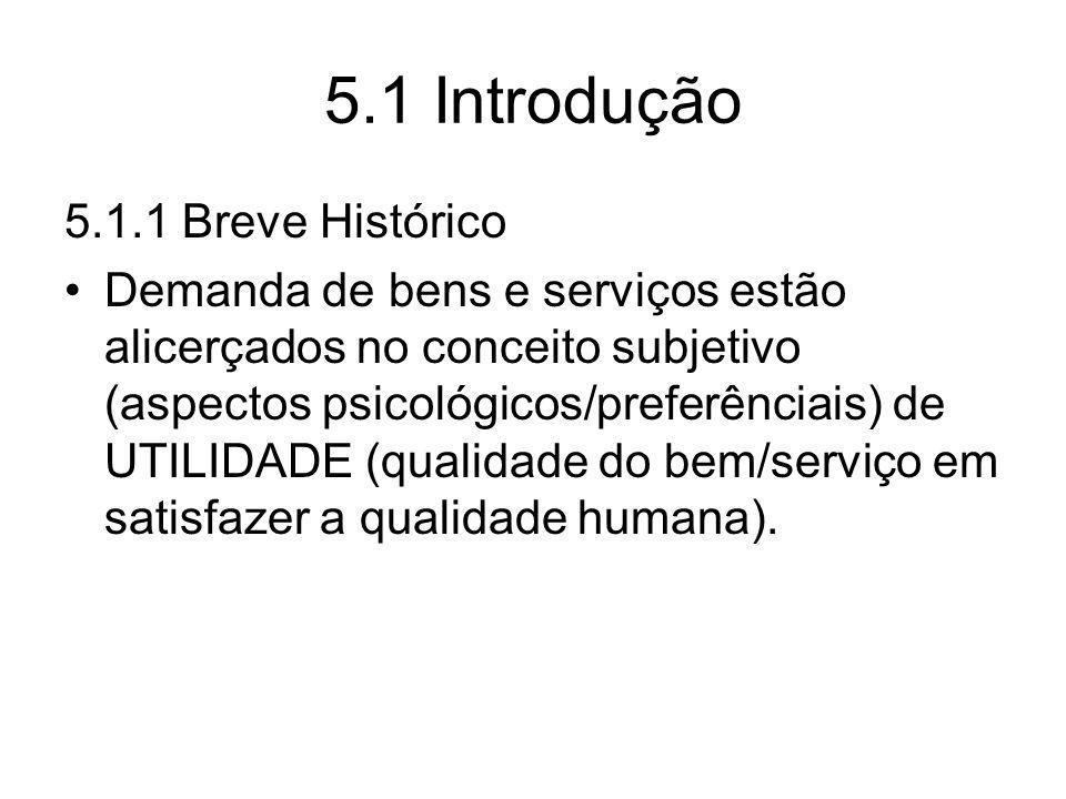 5.1 Introdução 5.1.1 Breve Histórico