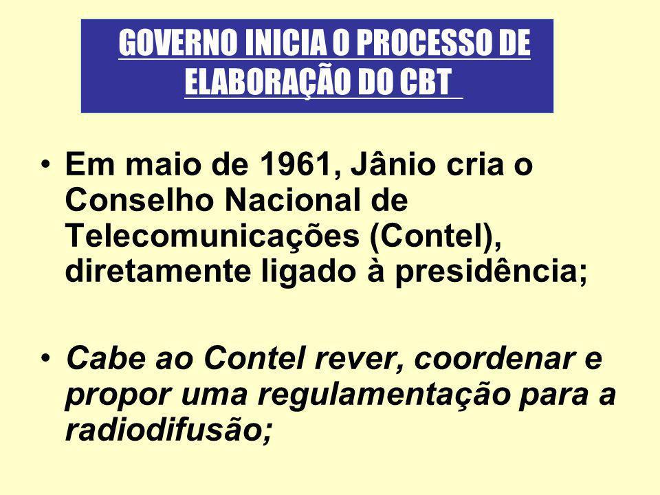 GOVERNO INICIA O PROCESSO DE