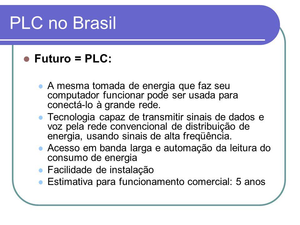 PLC no Brasil Futuro = PLC:
