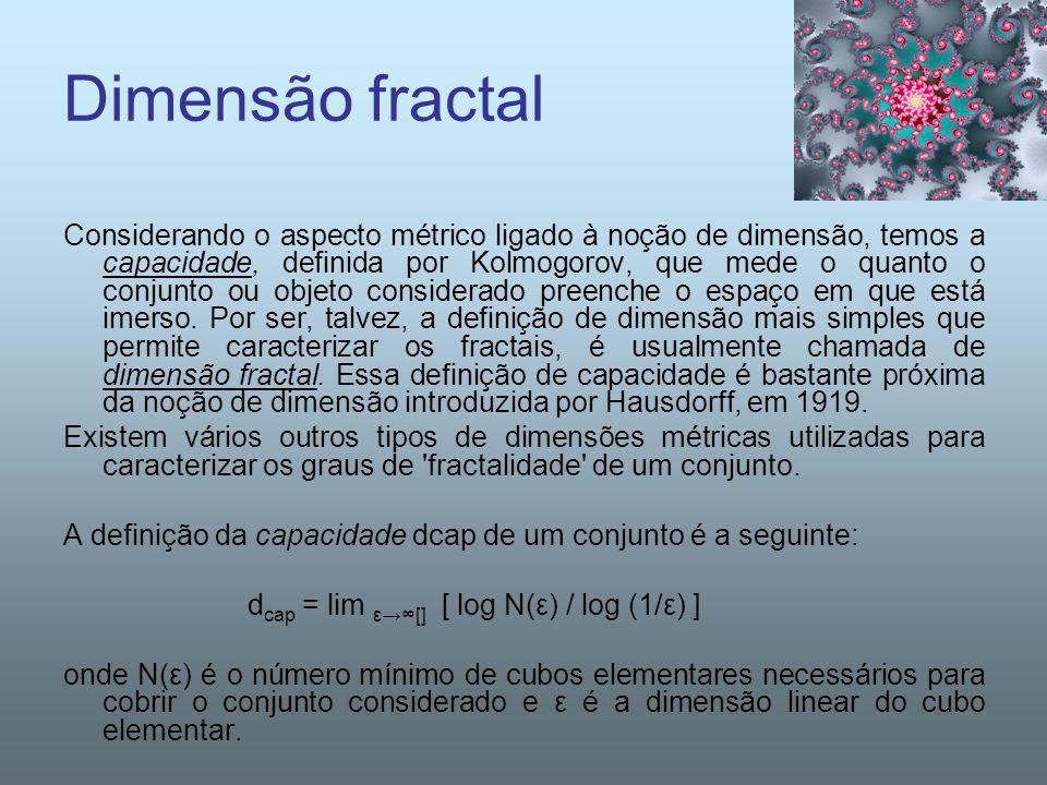 Dimensão fractal