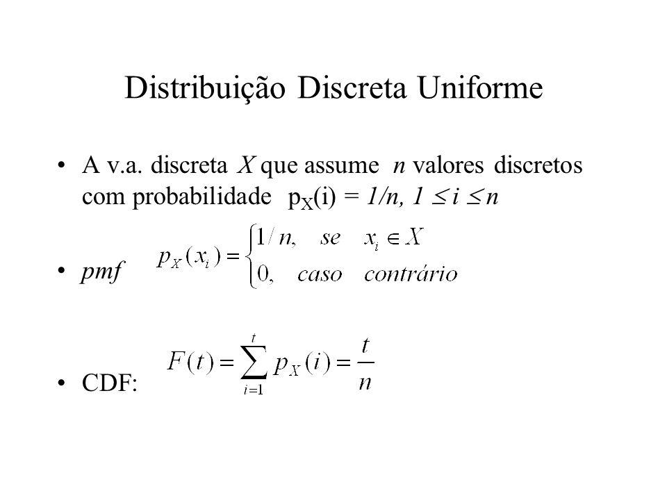 Distribuição Discreta Uniforme