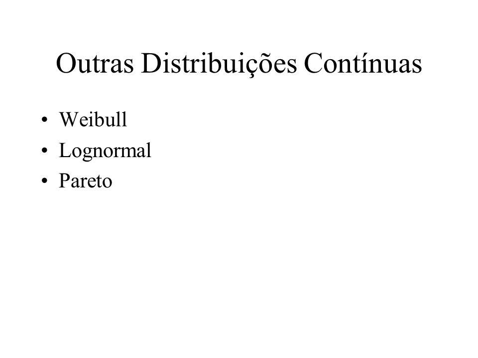 Outras Distribuições Contínuas