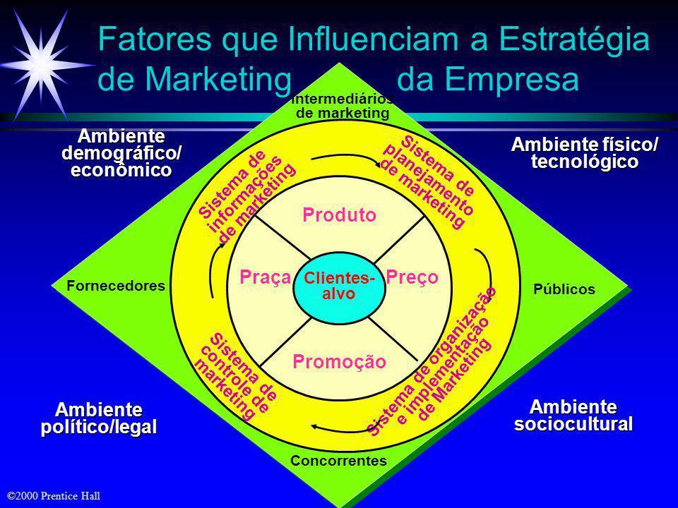 Fatores que Influenciam a Estratégia de Marketing da Empresa