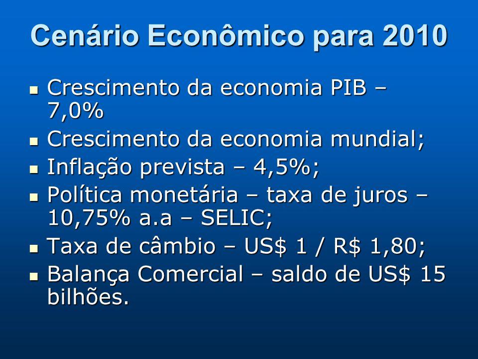 Cenário Econômico para 2010