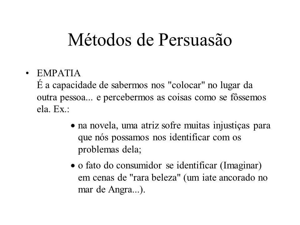 Métodos de Persuasão