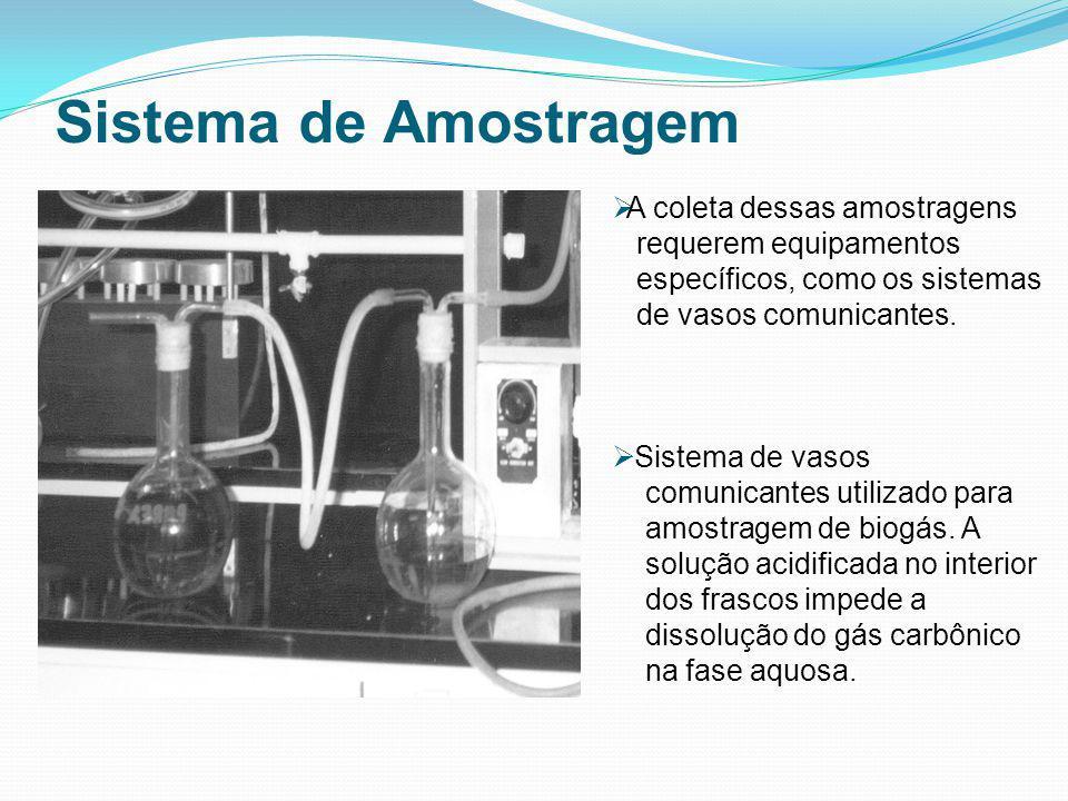 Sistema de Amostragem A coleta dessas amostragens