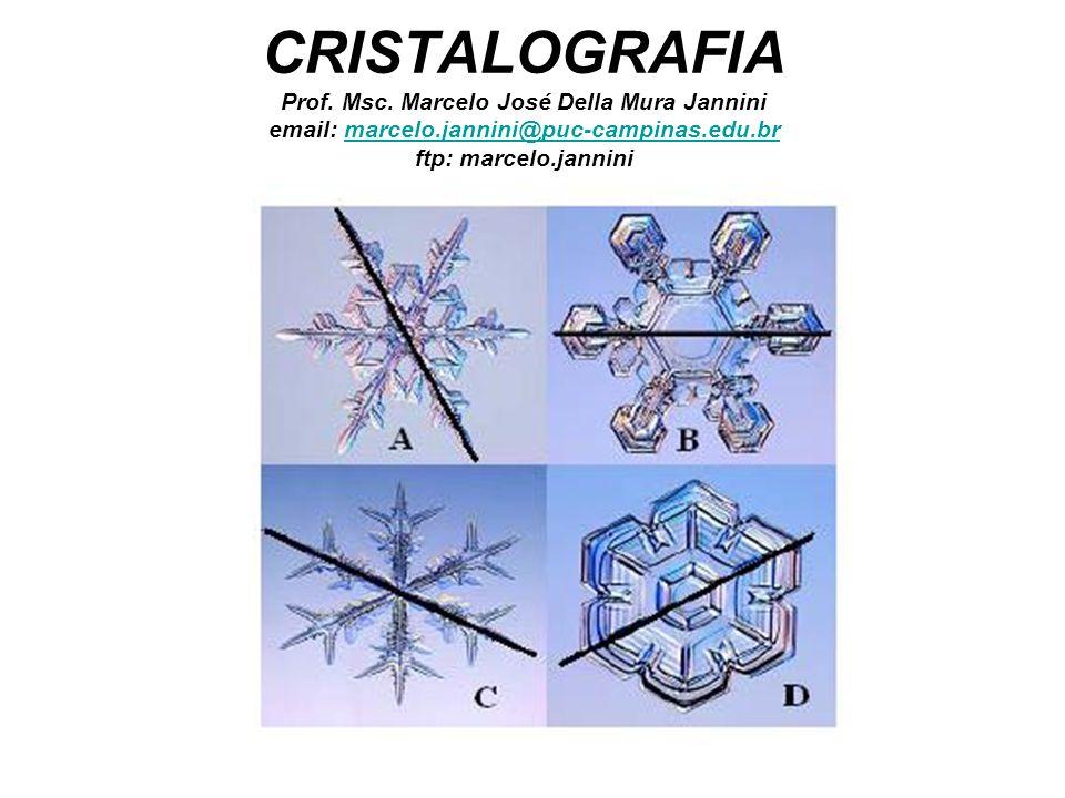 CRISTALOGRAFIA Prof. Msc