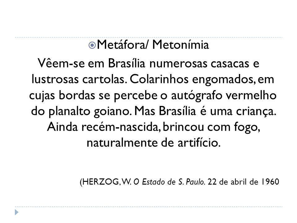 Metáfora/ Metonímia