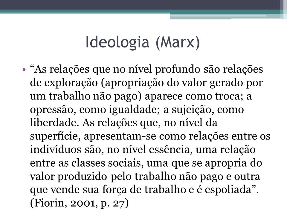 Ideologia (Marx)