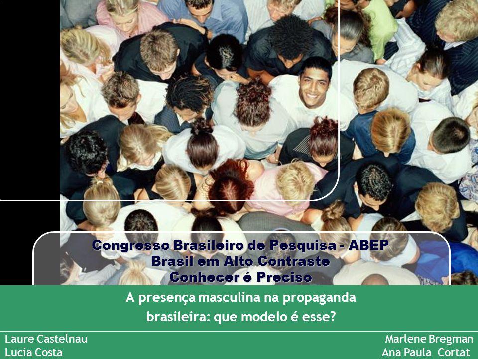 A presença masculina na propaganda brasileira: que modelo é esse