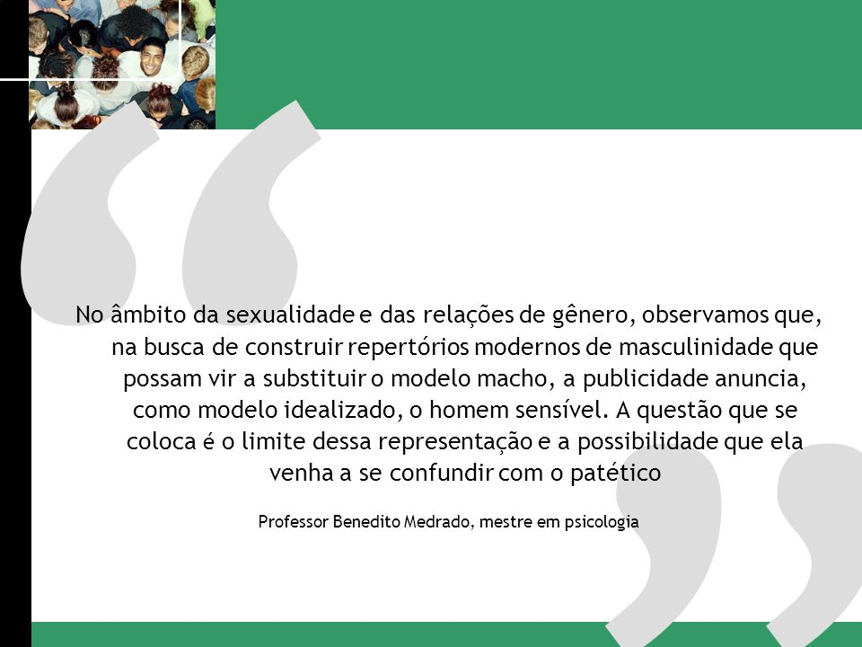 Professor Benedito Medrado, mestre em psicologia