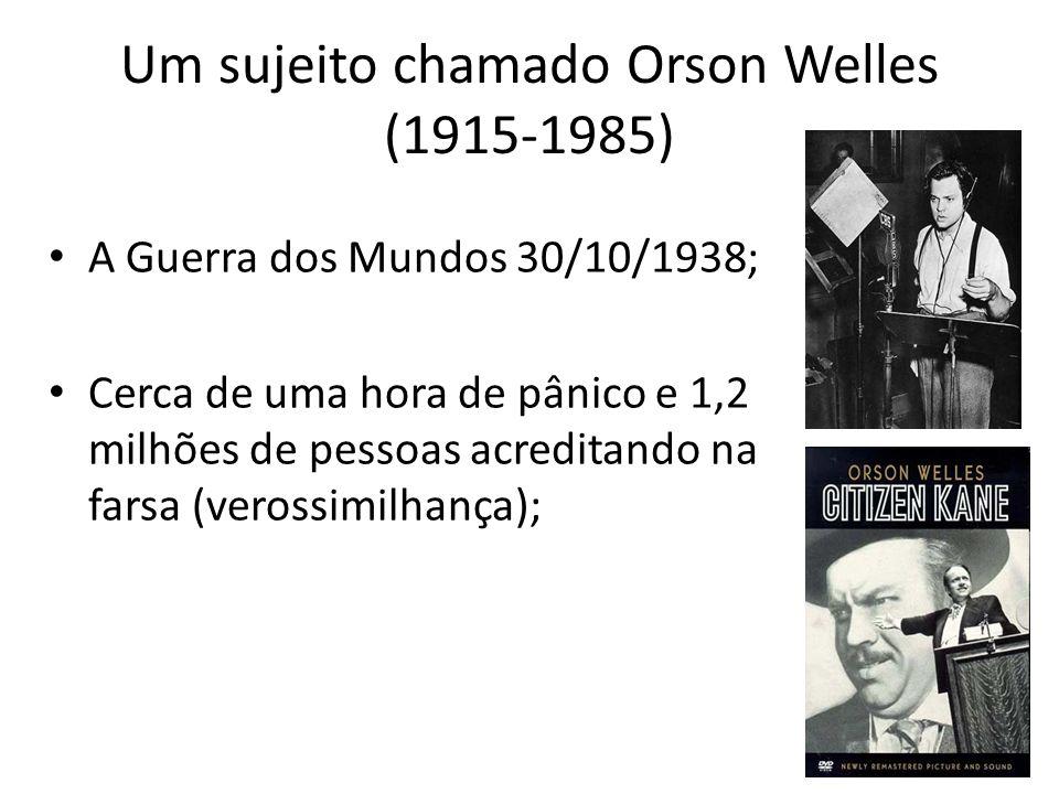 Um sujeito chamado Orson Welles (1915-1985)