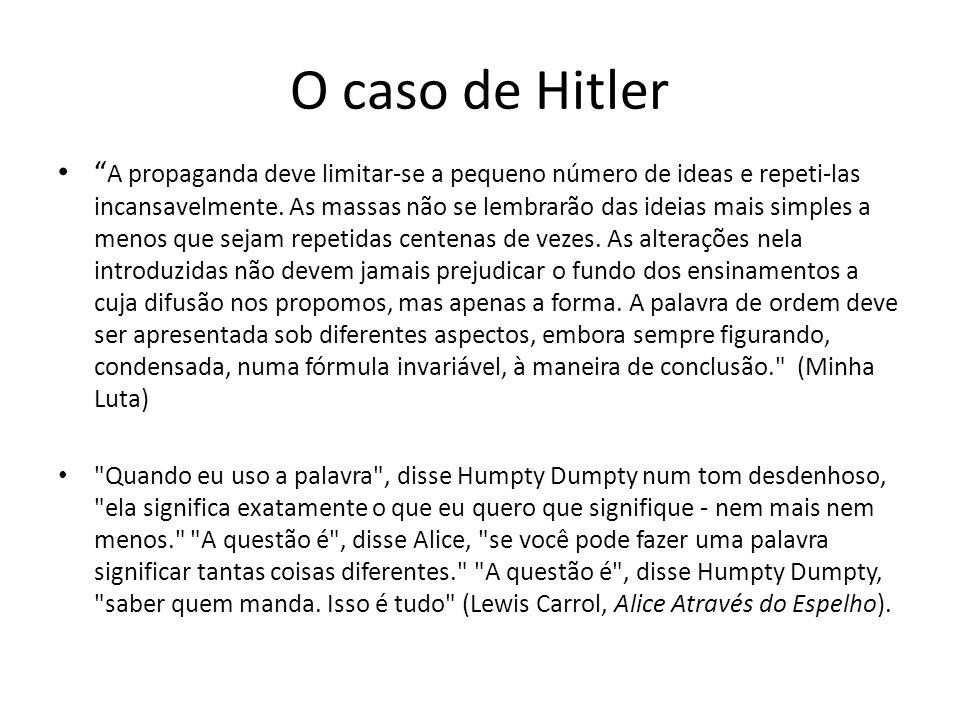 O caso de Hitler