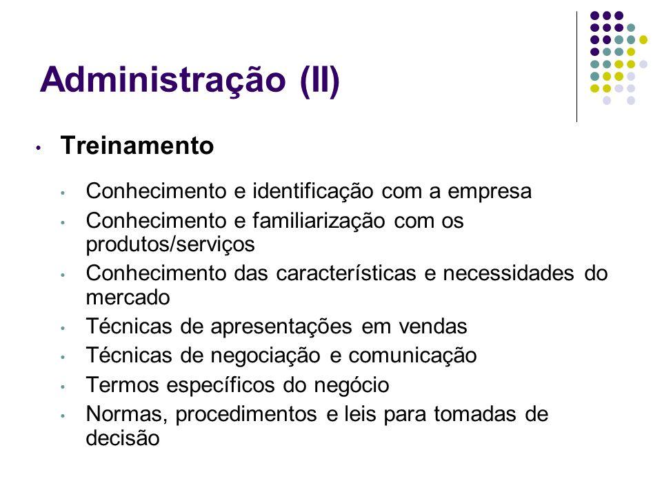 Administração (II) Treinamento