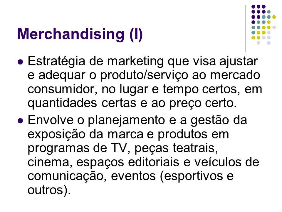 Merchandising (I)