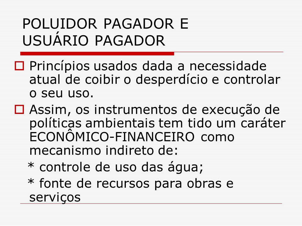 POLUIDOR PAGADOR E USUÁRIO PAGADOR