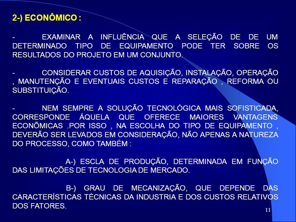 2-) ECONÔMICO :