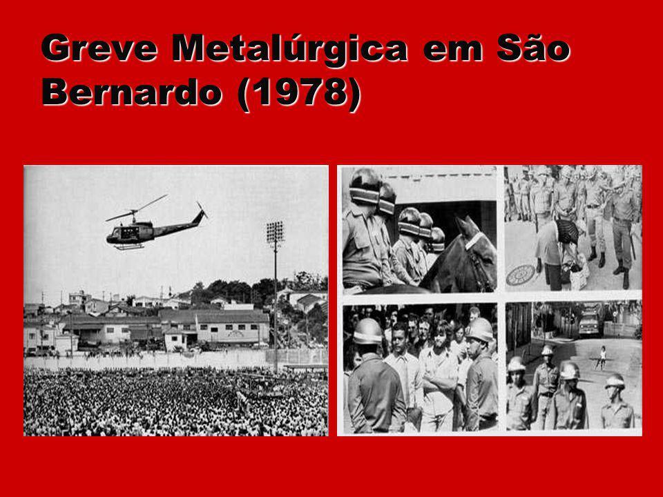 Greve Metalúrgica em São Bernardo (1978)