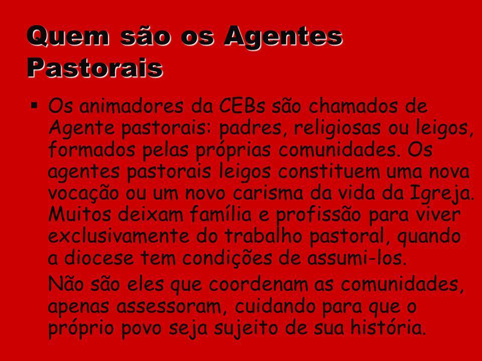 Quem são os Agentes Pastorais