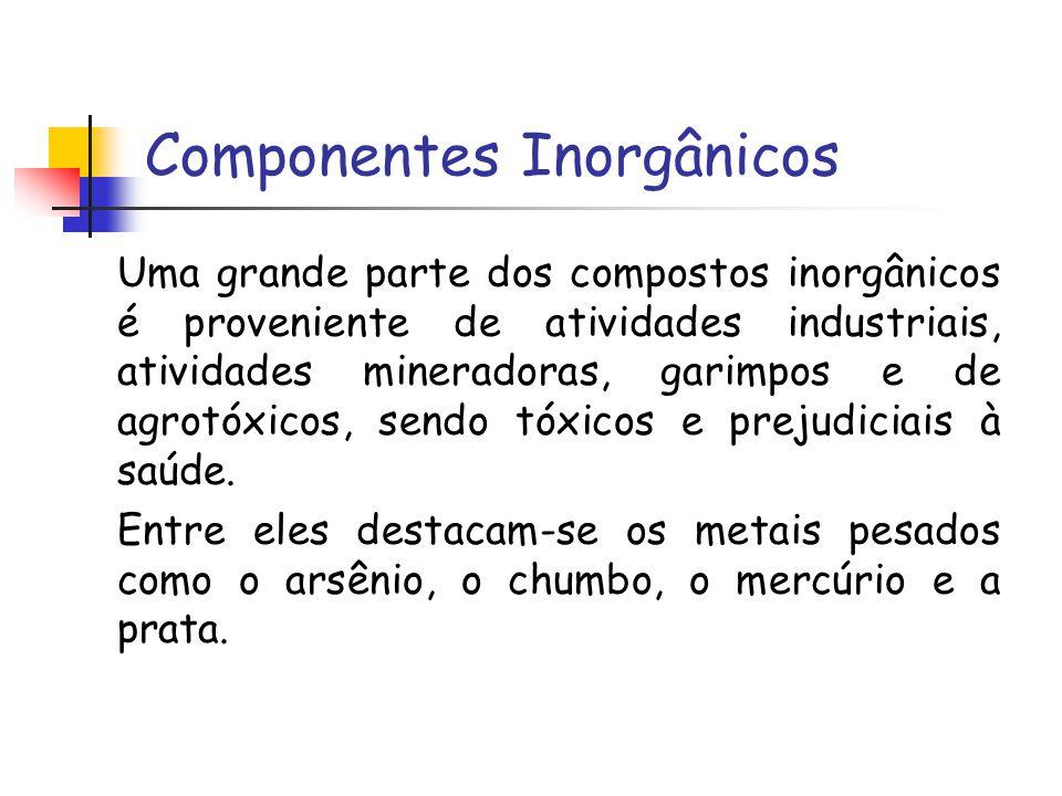 Componentes Inorgânicos