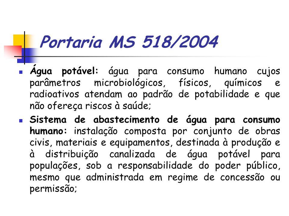 Portaria MS 518/2004