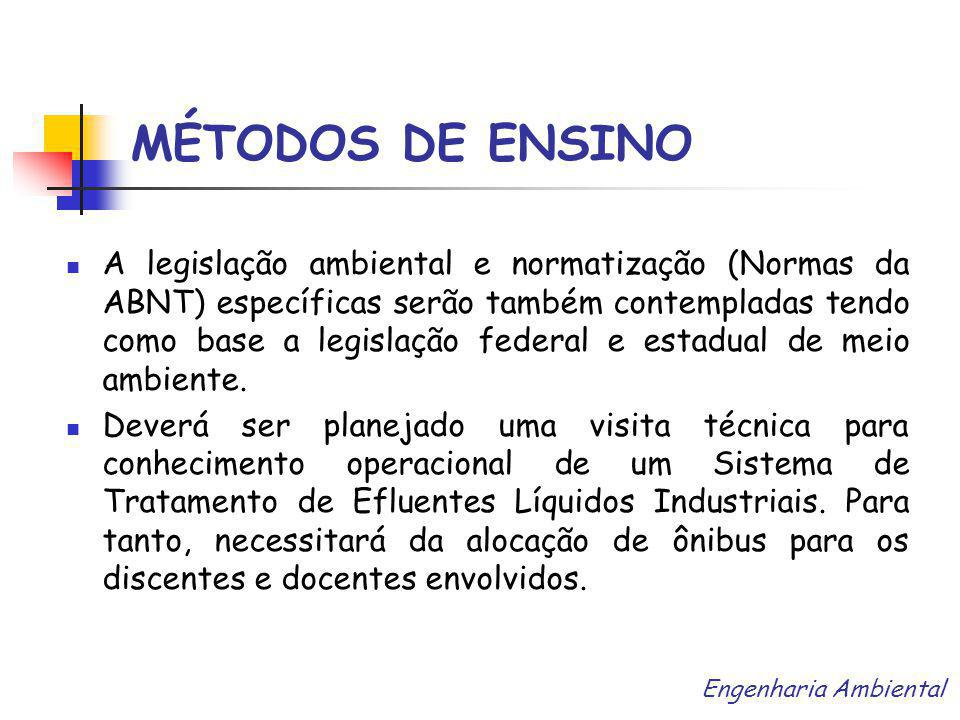 MÉTODOS DE ENSINO