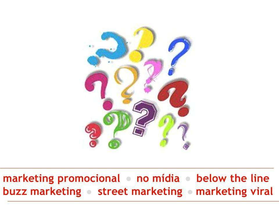marketing promocional no mídia below the line buzz marketing street marketing marketing viral