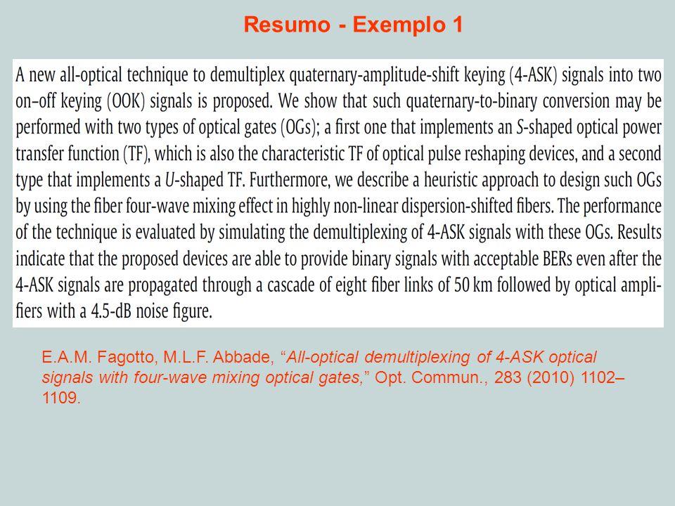 Resumo - Exemplo 1