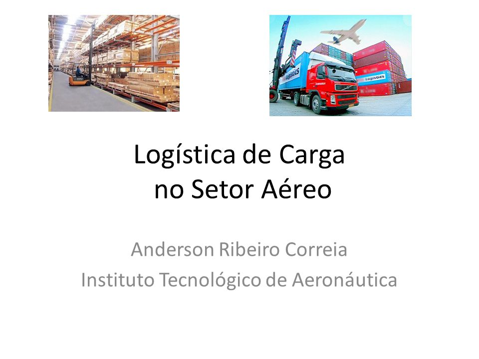 Logística de Carga no Setor Aéreo
