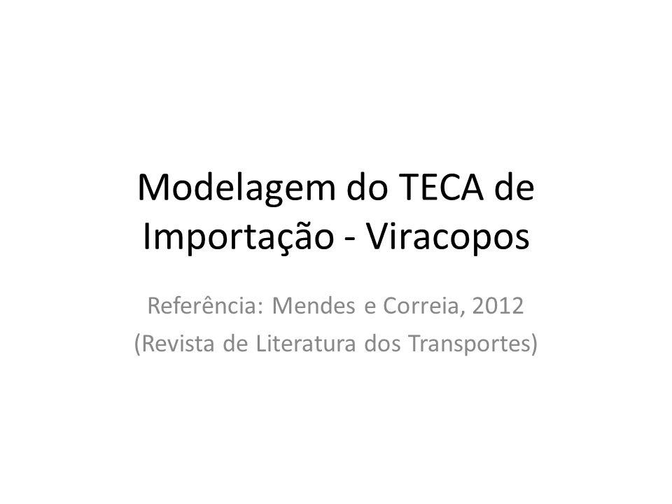 Modelagem do TECA de Importação - Viracopos