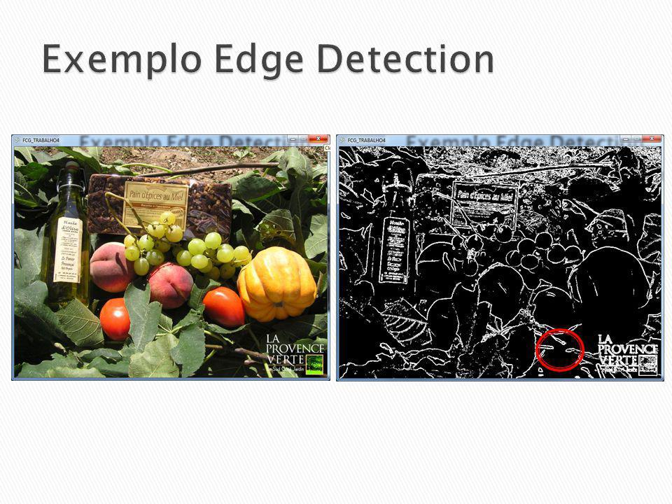 Exemplo Edge Detection