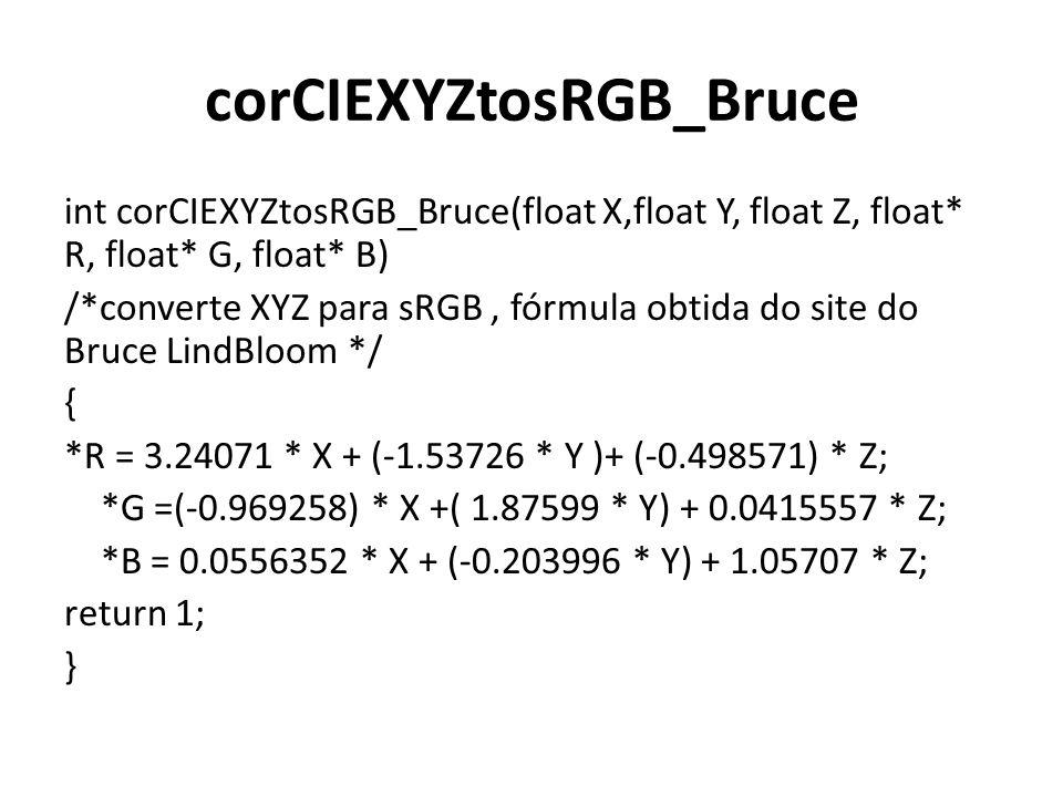 corCIEXYZtosRGB_Bruce