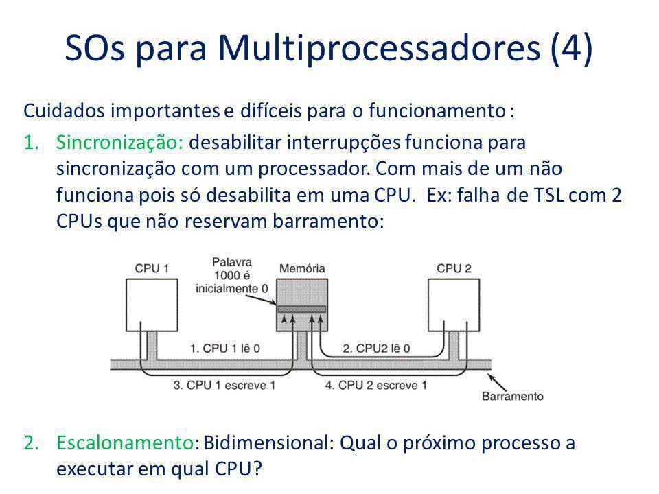 SOs para Multiprocessadores (4)