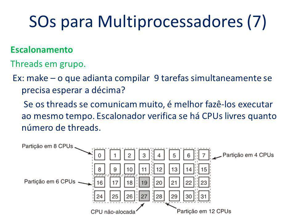 SOs para Multiprocessadores (7)