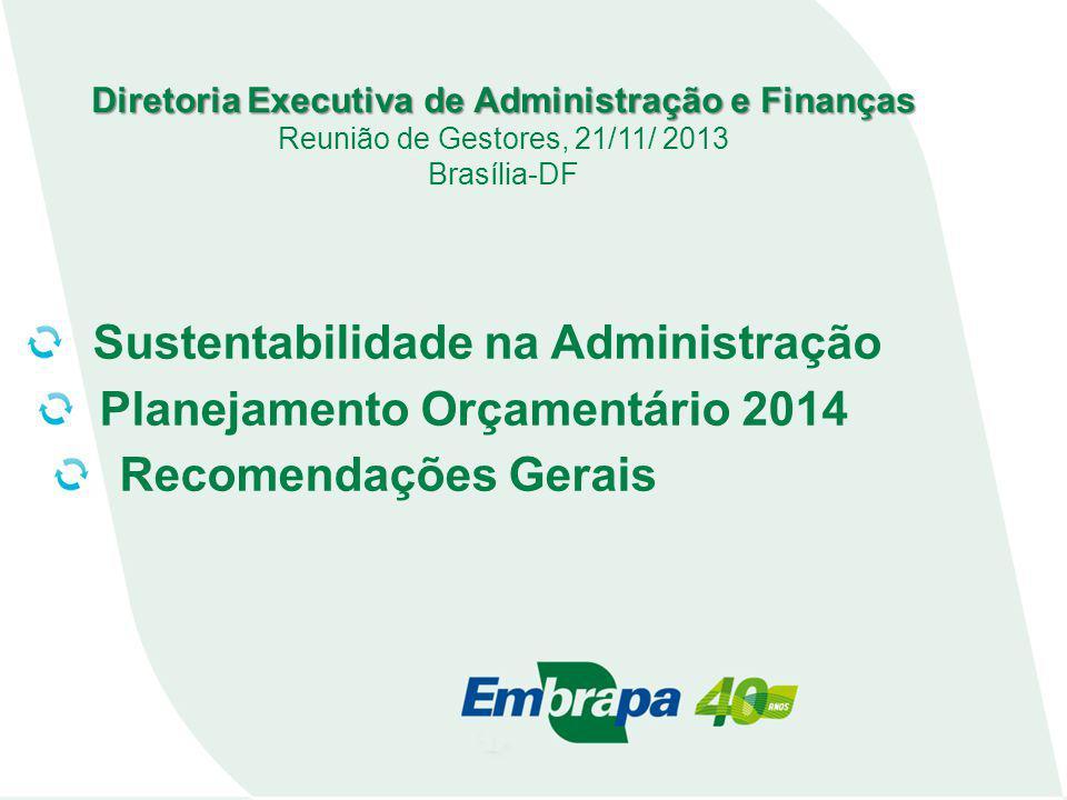 Diretoria Executiva de Administração e Finanças