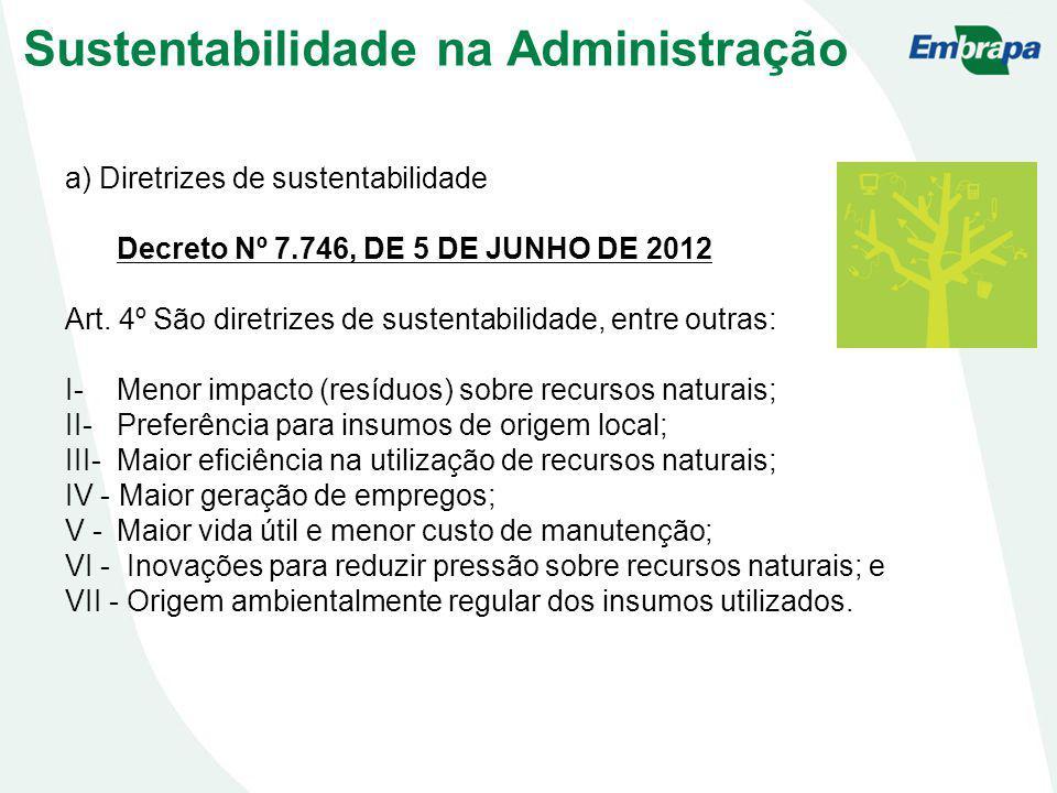 Sustentabilidade na Administração