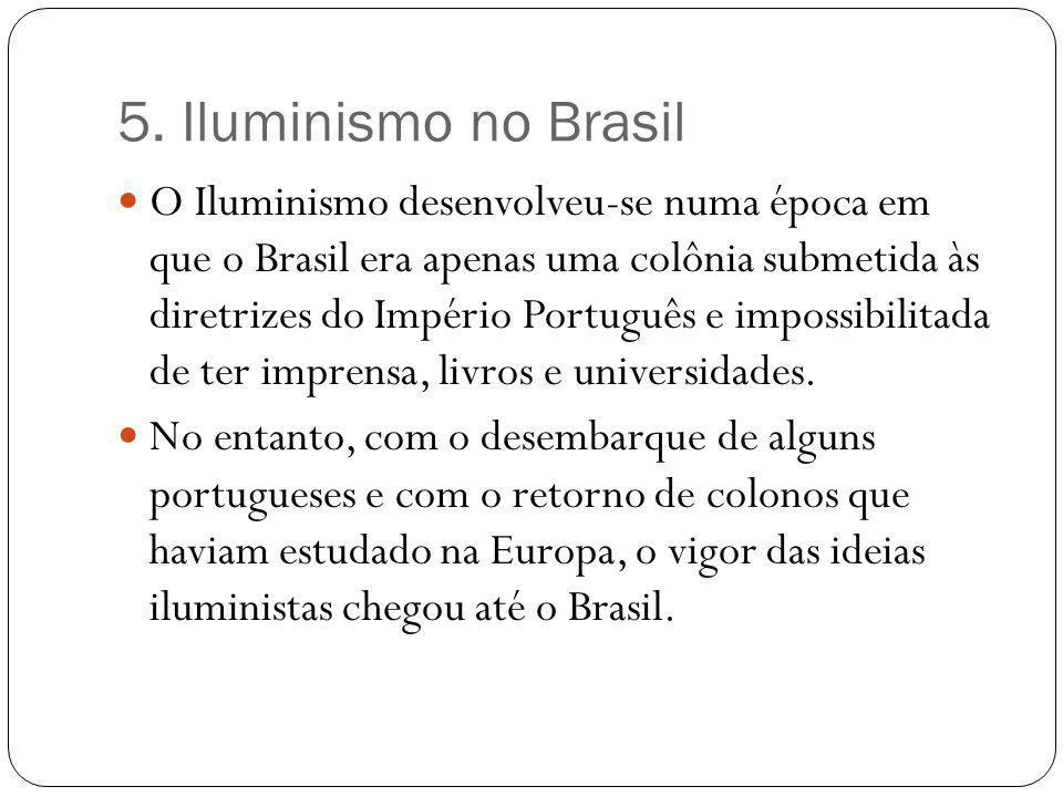 5. Iluminismo no Brasil