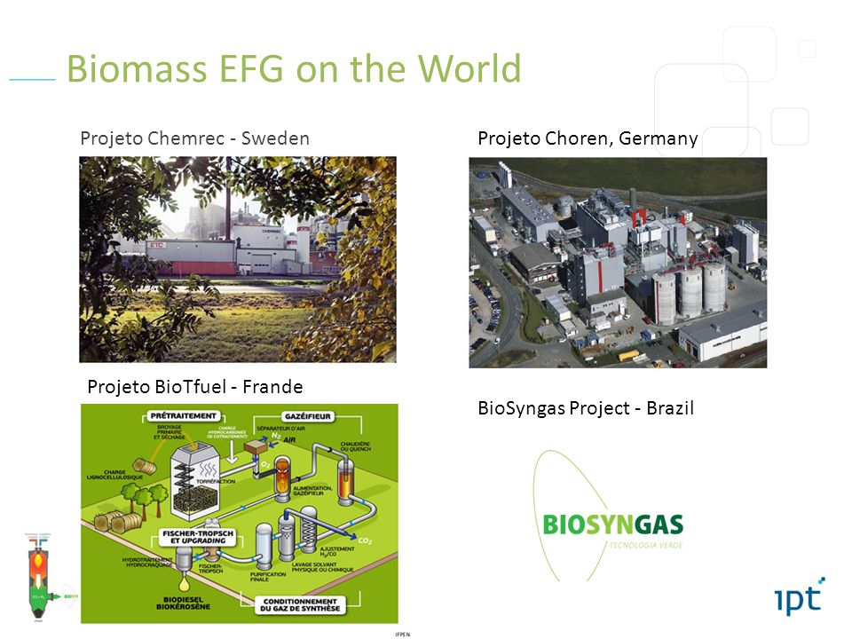 Biomass EFG on the World
