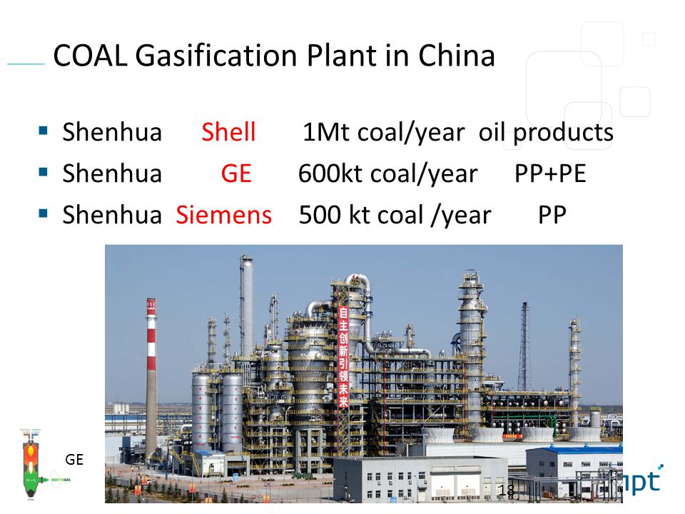 COAL Gasification Plant in China