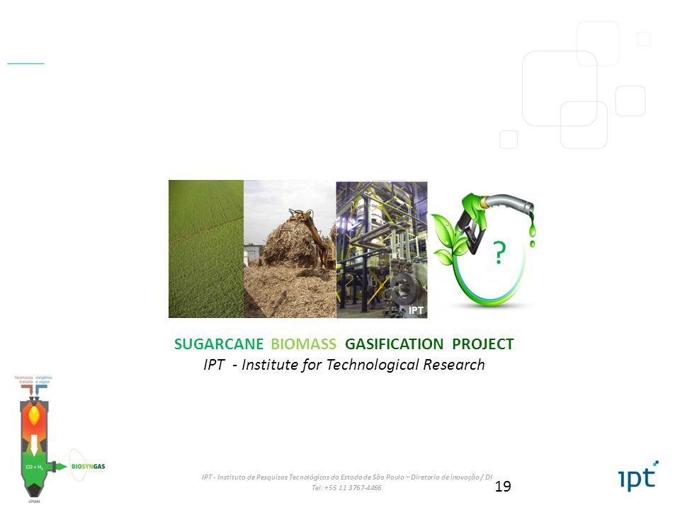 SUGARCANE BIOMASS GASIFICATION PROJECT