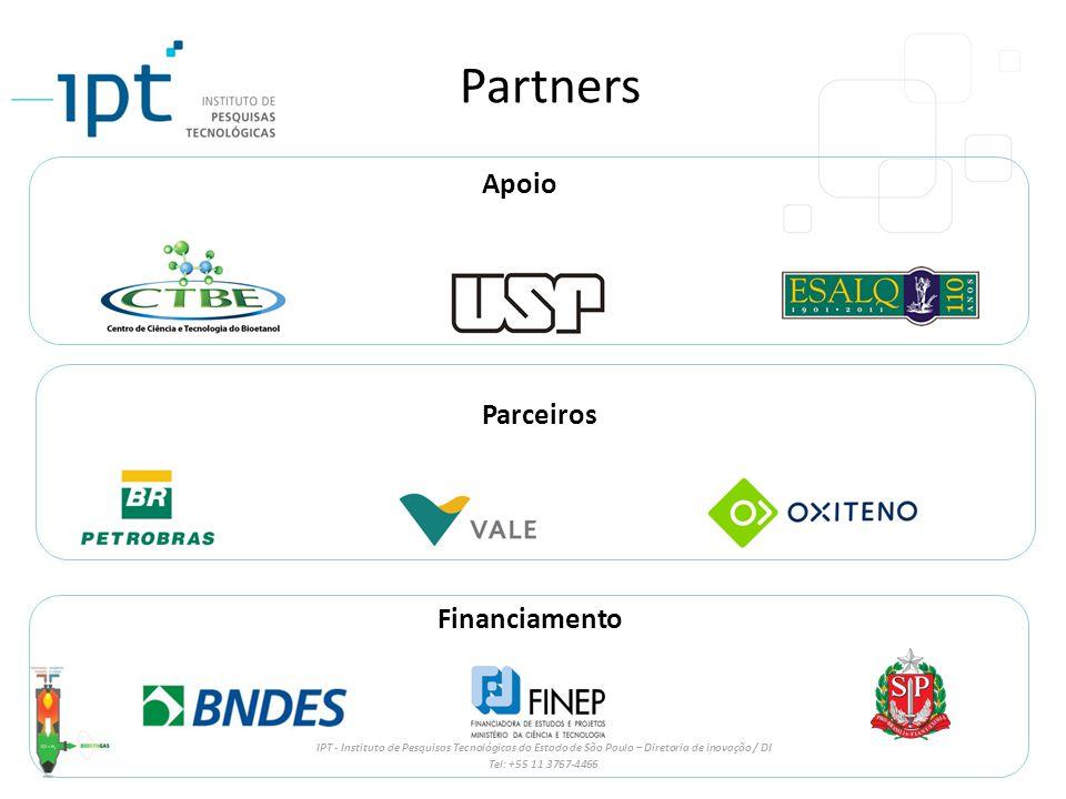 Partners Apoio Parceiros Financiamento