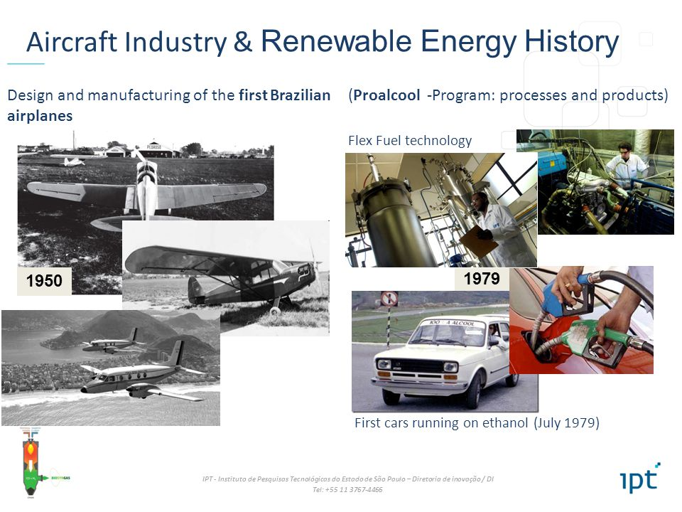Aircraft Industry & Renewable Energy History